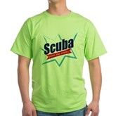 Scuba Take Me Away Green T-Shirt