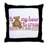 My Bear to Cross Pillow