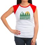 Minnesota Women's Cap Sleeve T-Shirt