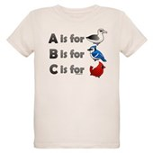 B is for Birdorable Organic Kids T-Shirt