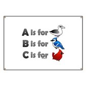 B is for Birdorable Banner