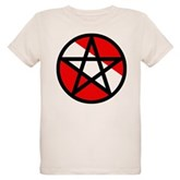 Scuba Flag Pentagram Organic Kids T-Shirt