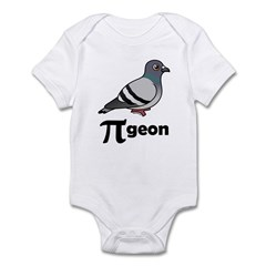 Birdorable PI-geon Infant Bodysuit