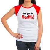 See You In Health! Women's Cap Sleeve T-Shirt