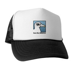 Save the Albatross (close-up) Trucker Hat