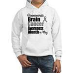 Brain Cancer - May Hooded Sweatshirt