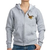Birdorable Carolina Wren Women's Zip Hoodie