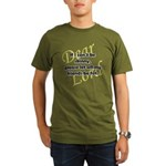 Lord, If I Can't Be Skinny, Let My Friends Be Fat Organic Men's T-Shirt (dark)