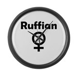 Ruffian Large Wall Clock