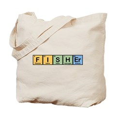 Fisher made of Elements Tote Bag