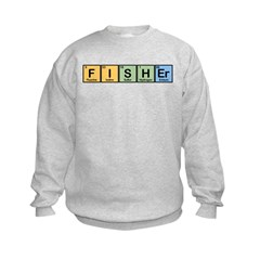 Fisher made of Elements Kids Sweatshirt