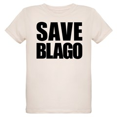 Save Illinois Governor Blagojevich, he's innocent! Organic Kids T-Shirt