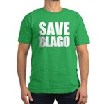 Save Illinois Governor Blagojevich, he's innocent! Men's Fitted T-Shirt (dark)