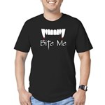 Bite Me Men's Fitted T-Shirt (dark)