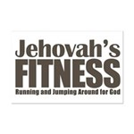 Jehovah's Fitness Mini Poster Print