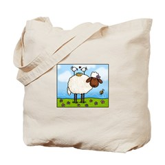 Spring Sheep Tote Bag