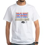 QWERTY B.C. White T-Shirt