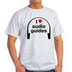 I Love Audio Guides Light T-Shirt