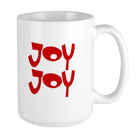Happy Happy Joy Joy Large Mug