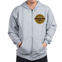 Astrological Sign Zip Hoodie