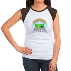 Maharashtra India Women's Cap Sleeve T-Shirt