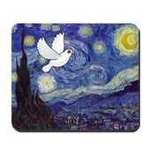 Starry Dove Mousepad