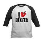 I Heart Dexter *Showtime* Kids Baseball Jersey