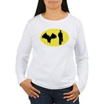 Bat Man Women's Long Sleeve T-Shirt