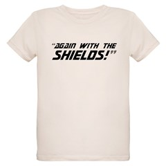 Again With The Shields! Organic Kids T-Shirt