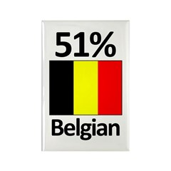 51% Belgian Rectangle Magnet