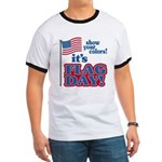 Flag Day Ringer T