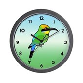 Rainbow Bee-eater Wall Clock