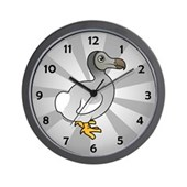 Birdorable Dodo Wall Clock