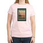 Visit Beautiful Alaska Women's Light T-Shirt