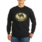 Egyptian Camel Long Sleeve Dark T-Shirt