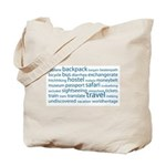 Travel Tag Cloud Tote Bag