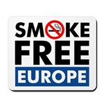 Smoke Free Europe Mousepad