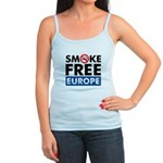 Smoke Free Europe Jr. Spaghetti Tank
