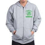 25% Irish - Thank You Grandma Zip Hoodie