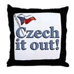 Czech It Out Throw Pillow