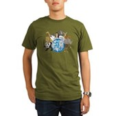 They Were Here First Organic Men's T-Shirt (dark)
