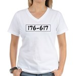 176-617 Women's V-Neck T-Shirt