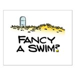 Fancy a Swim? Small Poster