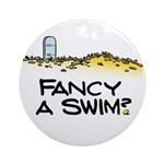 Fancy a Swim? Ornament (Round)