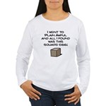 I Went to Plain Awful.. Women's Long Sleeve T-Shirt