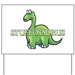 Stuffosaurus Logo Yard Sign