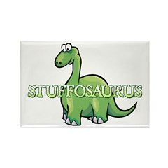 Stuffosaurus Logo Rectangle Magnet