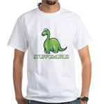 Stuffosaurus Logo White T-Shirt