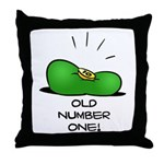 Old Number One! Throw Pillow