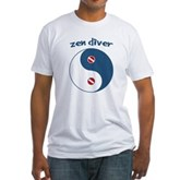 Zen Diver Fitted T-Shirt